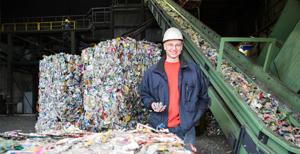Imagen de Alunova Recycling GmbH, cliente de BOGE Compresores en Alemania