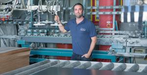 Image Of BOGE Compressors Design Factory With Staff Member