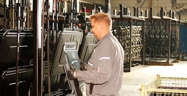 Image Of BOGE Compressors Ksi Fitting By Engineer