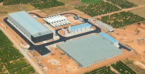 Imagen del emplazamiento de IDAM Moncofa, cliente de BOGE Compresores en España