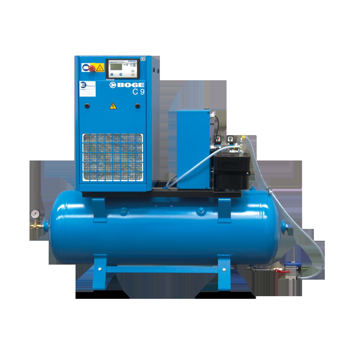 screw compressor c dr up to 7 5 kw boge compressors rh boge com Boge Compressors S 271 Screw Compressor