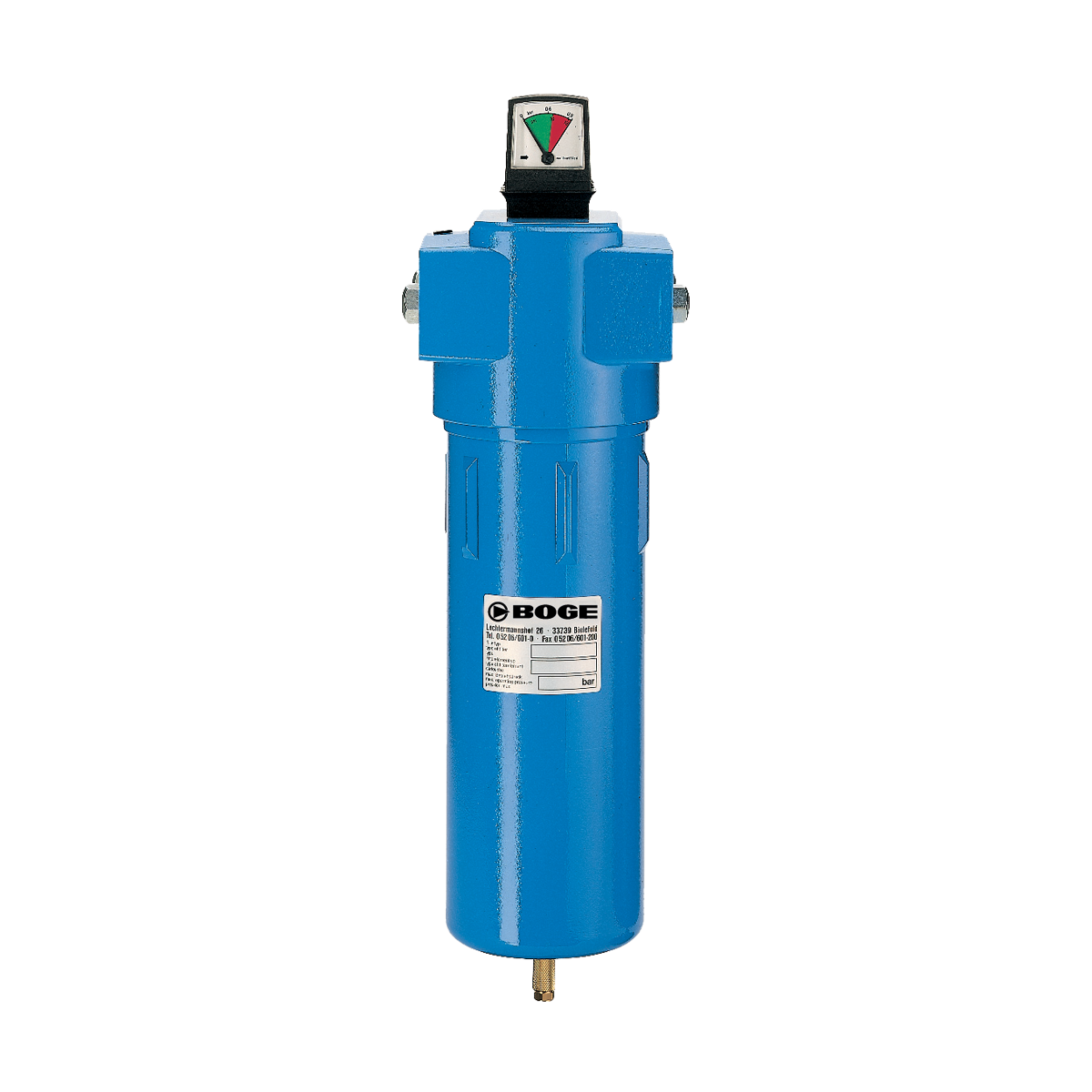 High pressure microfilter bar boge compressors