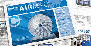 Imagen del logotipo de la AIRMAG de BOGE Compresores