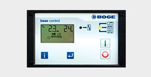 Image Of BOGE Compressors Base Control Dashboard System