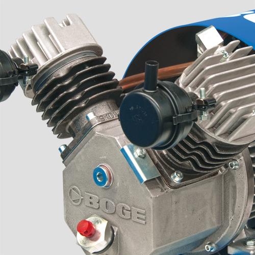 Kolbenkompressor P...LDR bis 1,5 kW   BOGE Kompressoren Website