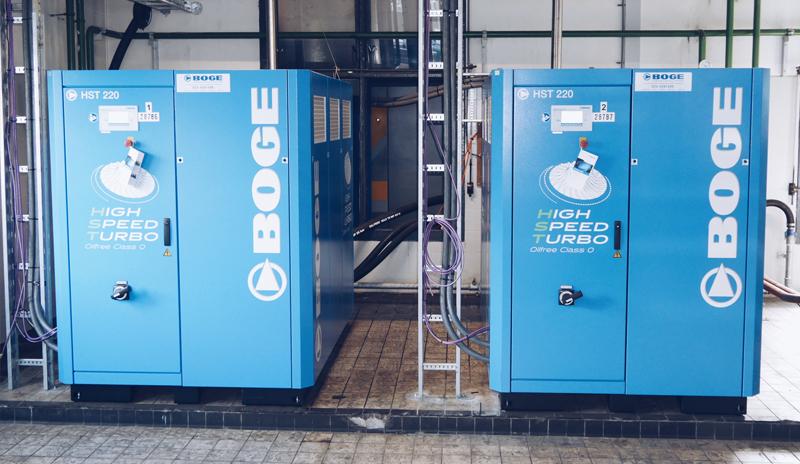 Image Of BOGE Compressors Hst Oil Free Product