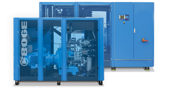 Screw compressor s series up to 110 kw | boge compressors.