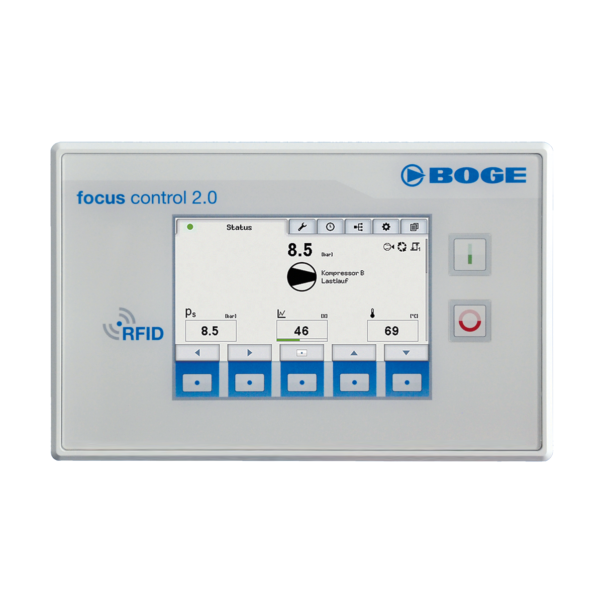 Image Of BOGE Compressors Focus Control 2.0 Product