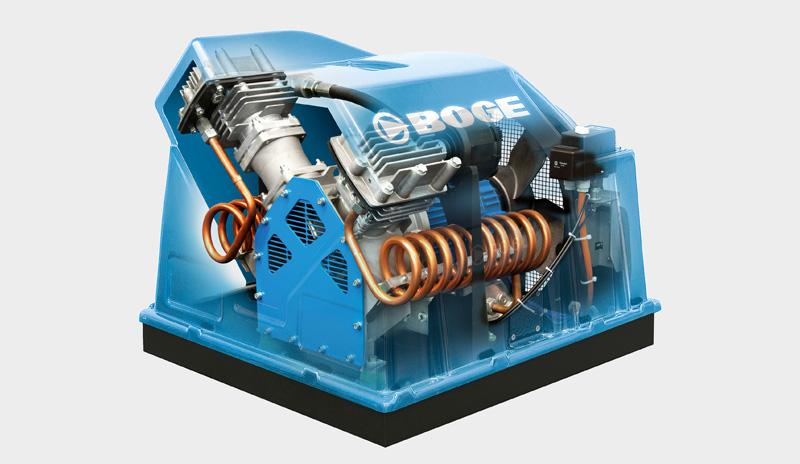 Bafa förderfähige Kolbenkompressoren