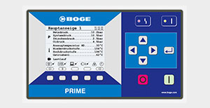 Image Of BOGE Compressors Prime Dashboard