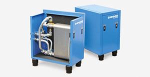 Imagen del sistema de recuperación de calor de BOGE Compresores